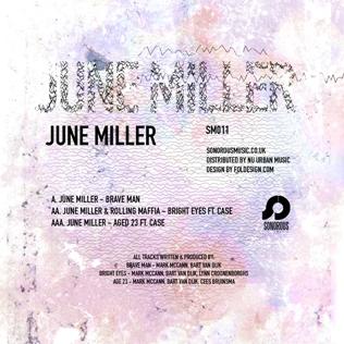 """June Miller/BRAVE MAN 12"""""""