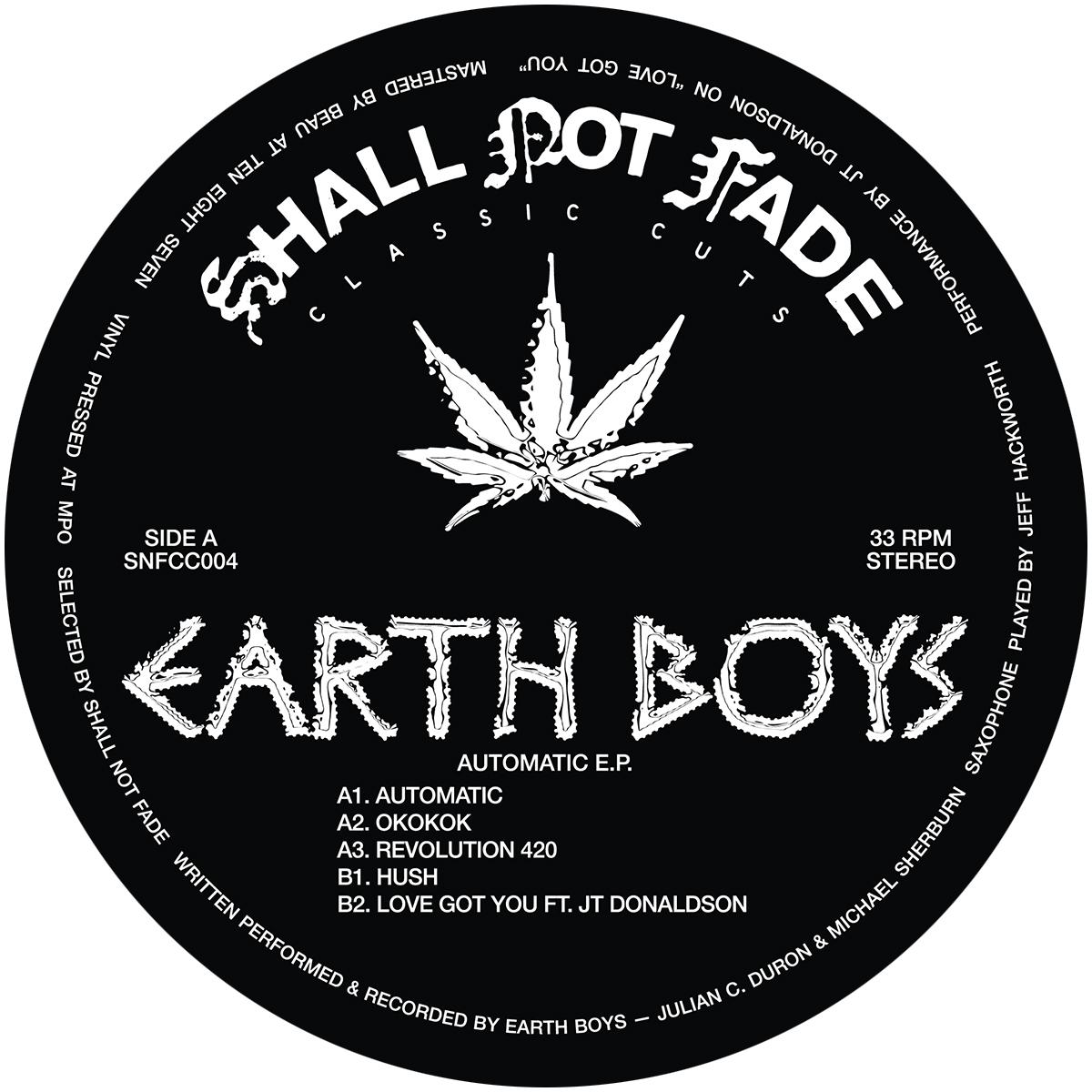 Earth Boys/AUTOMATIC EP 12""