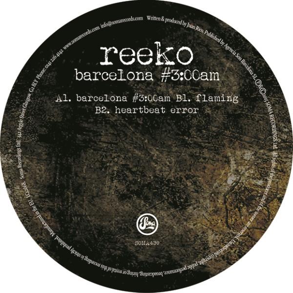 "Reeko/BARCELONA #3:00 A.M. 12"""