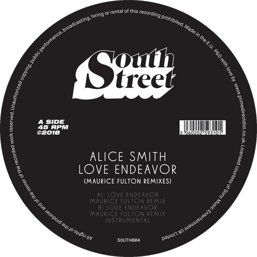 Alice Smith/LOVE ENDEAVOR REMIX 12""