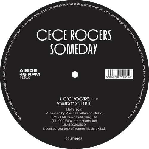 Ce Ce Rogers/SOMEDAY 12""