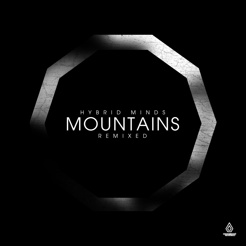 "Hybrid Minds/MOUNTAINS REMIXED 12"" + CD"