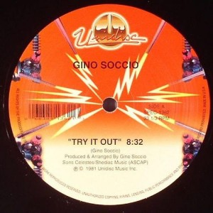 """Gino Soccio/TRY IT OUT 12"""""""