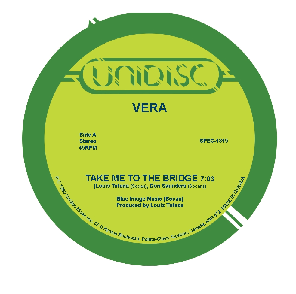 Vera/TAKE ME TO THE BRIDGE 12""