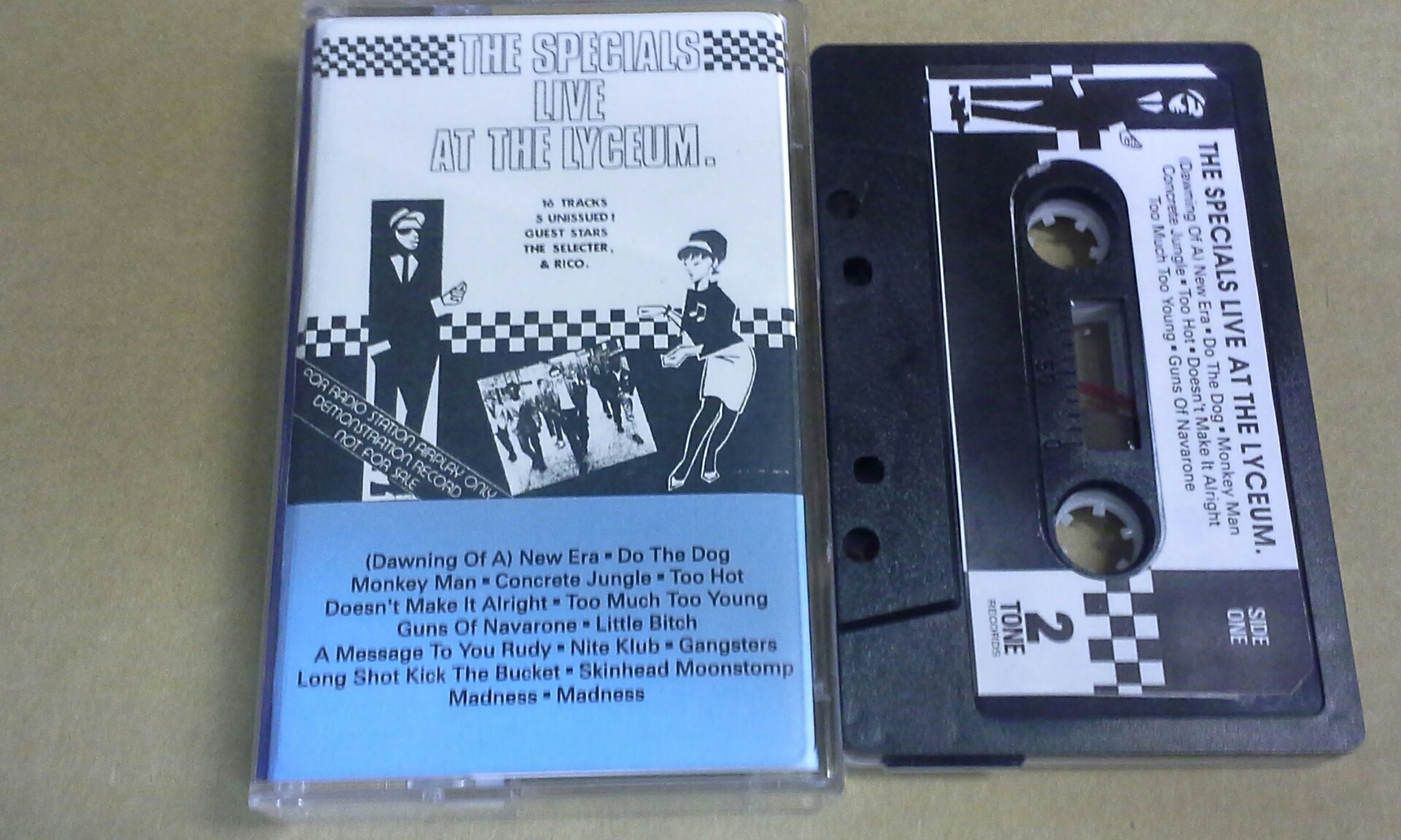 Specials/LIVE AT THE LYCEUM 1979 TAPE
