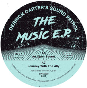 Derrick Carter/THE MUSIC EP 12""
