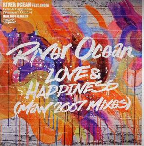 "River Ocean/LOVE & HAPPINESS 2007 12"""