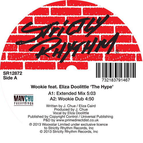"""Wookie/THE HYPE 12"""""""