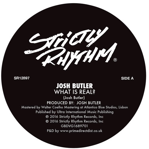 """Josh Butler/WHAT IS REAL? 12"""""""