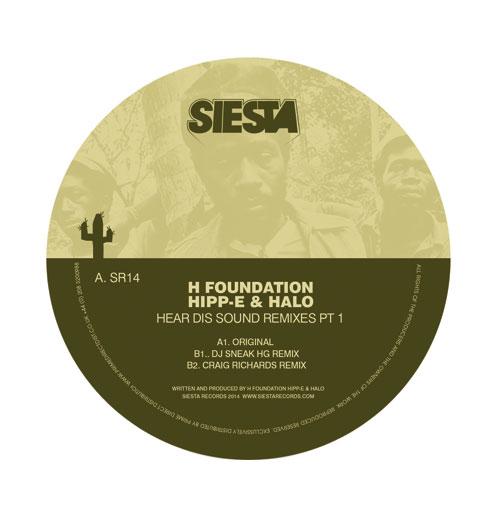 "H Foundation/HEAR DIS SOUND RMX'S #1 12"""