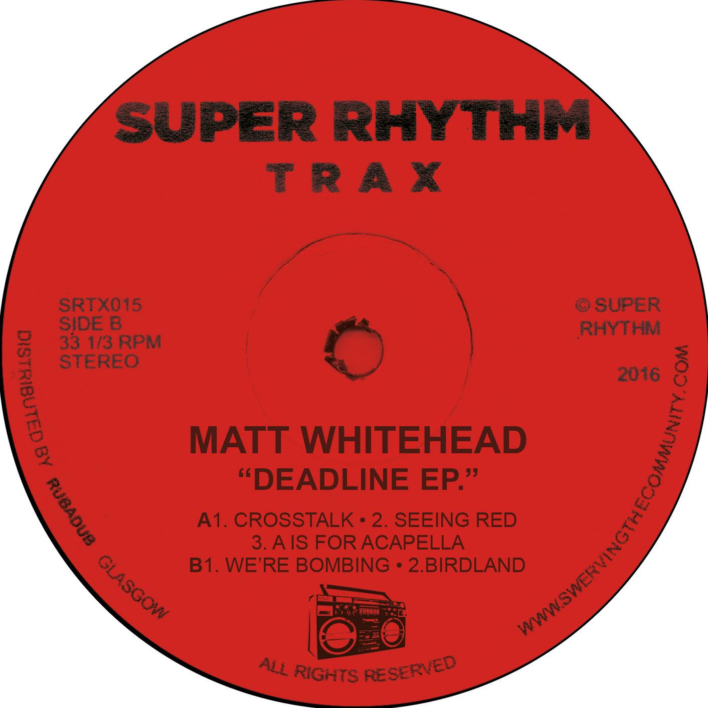 """Matt Whitehead/BOMBING EP 12"""""""