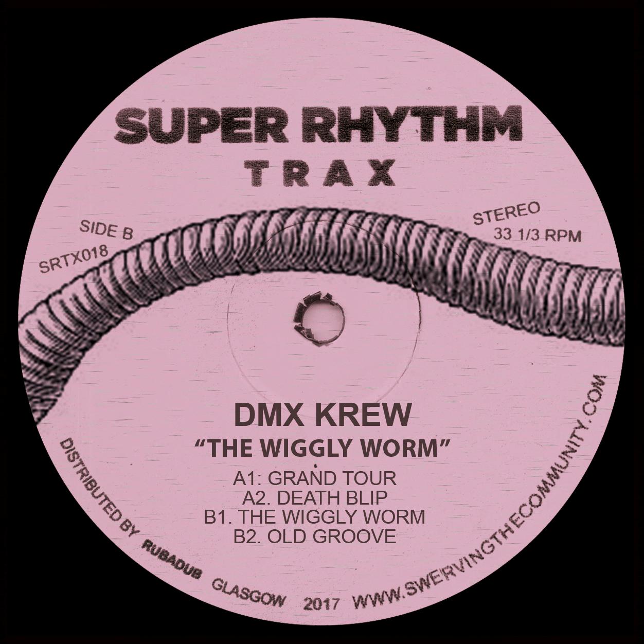 """DMX Krew/THE WIGGLY WORM 12"""""""
