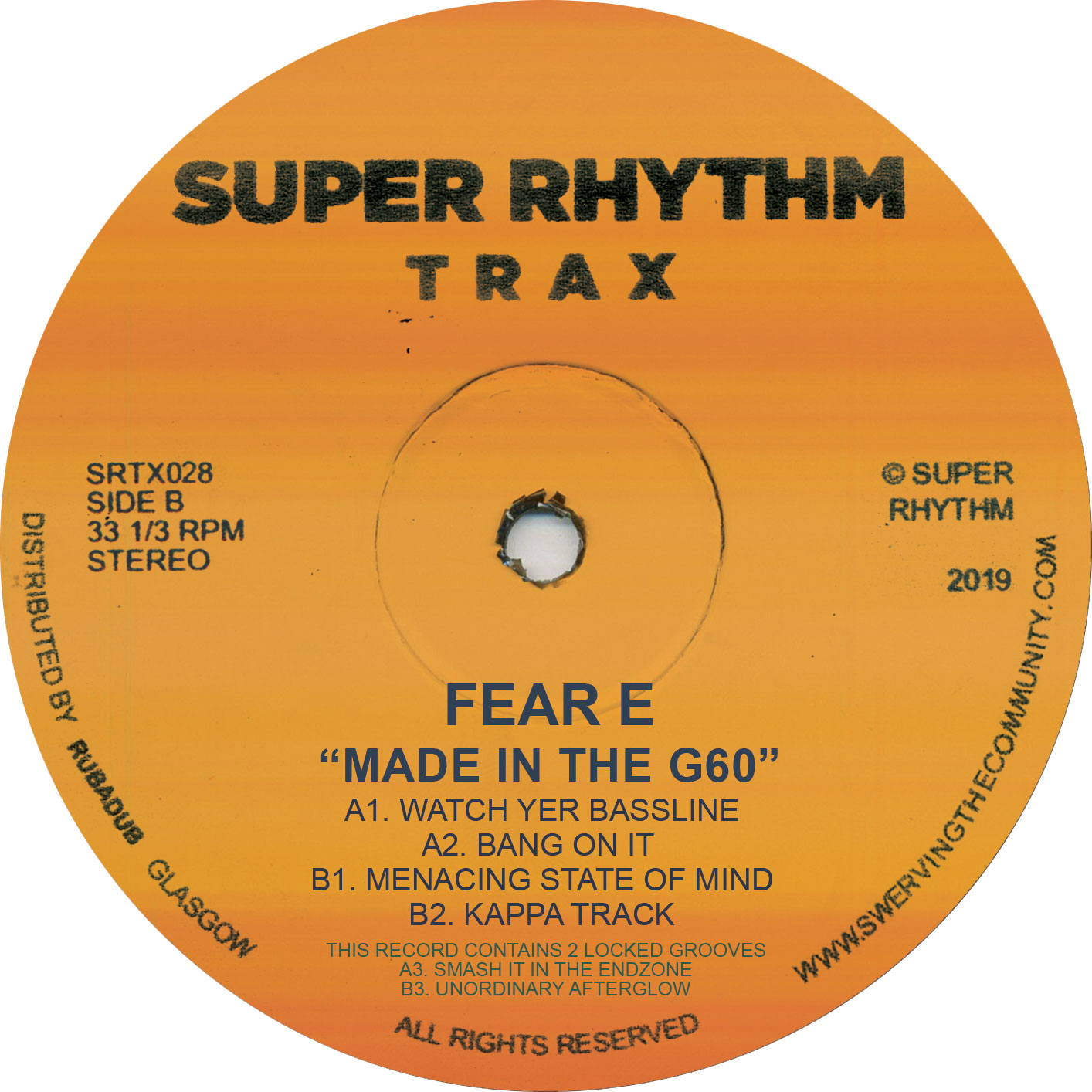 """Fear-E/MADE IN THE G60 EP 12"""""""