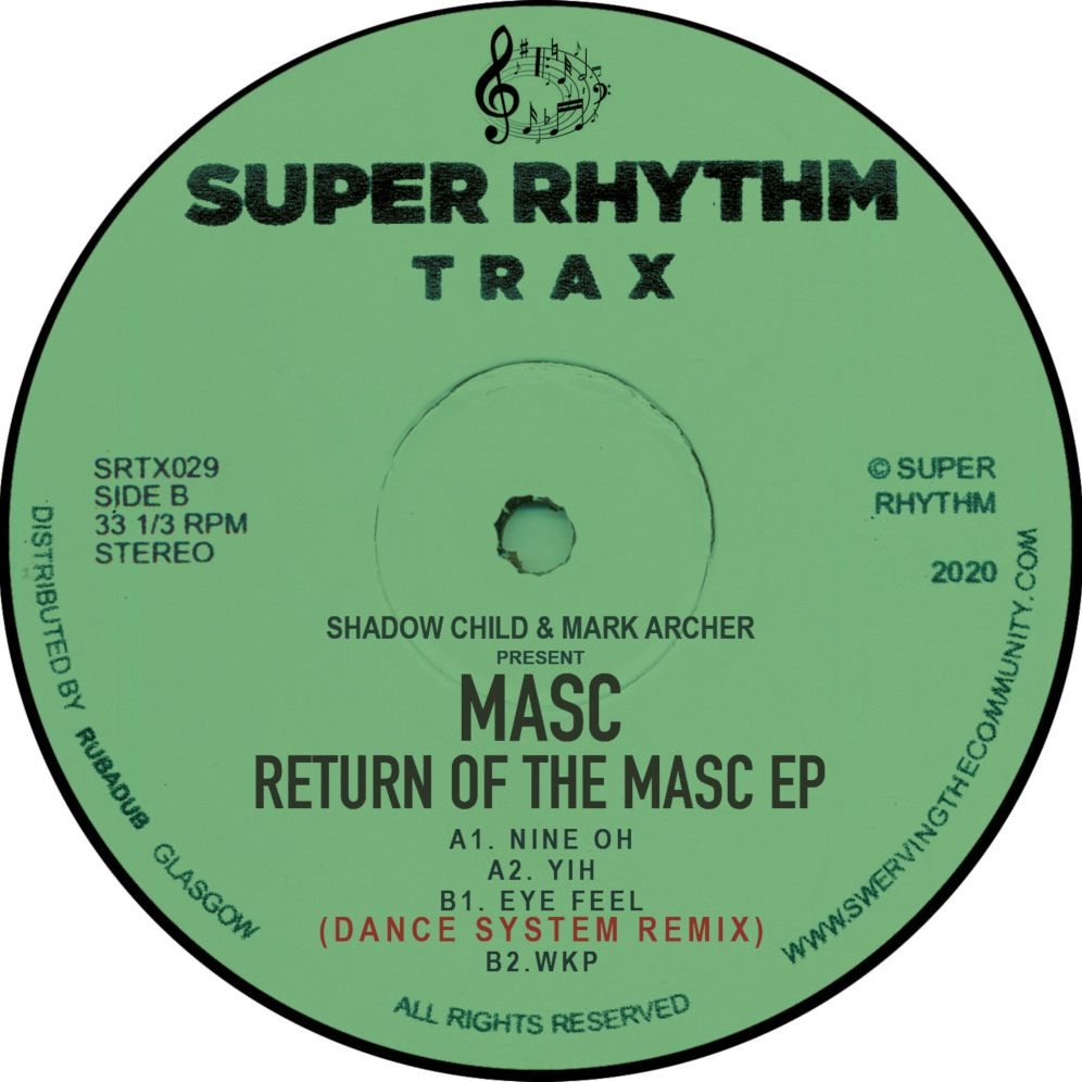 Masc/RETURN OF THE MASC EP 12""
