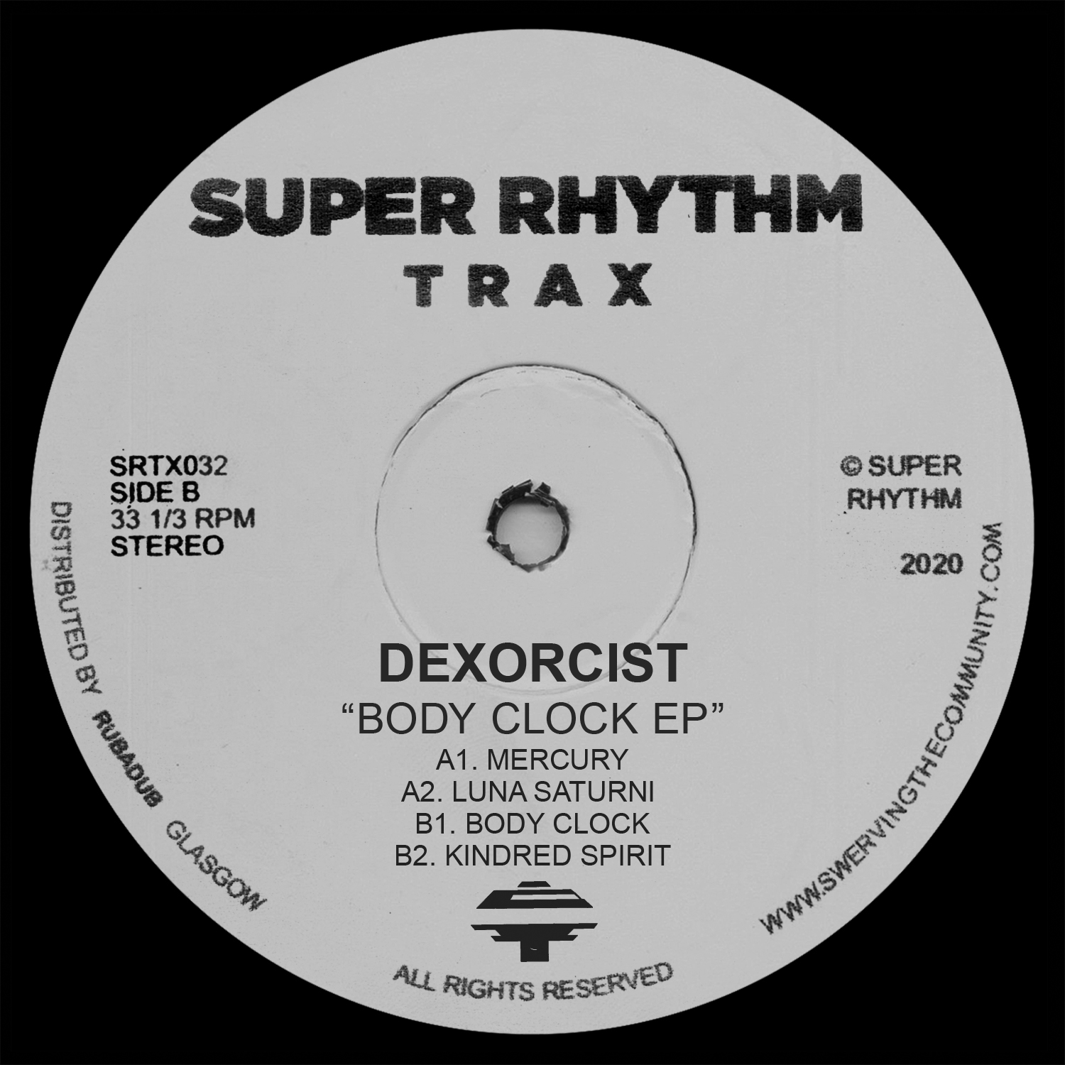 Dexorcist/BODY CLOCK EP 12""