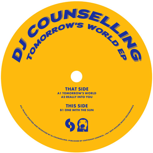 DJ Counselling/TOMORROW'S WORLD EP 12""
