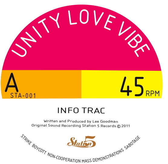 Unity Love Vibe/INFO TRAC-DOOM LOOP 12""