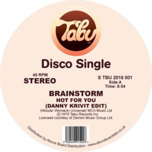 """Brainstorm/HOT FOR YOU (D. KRIVIT) 12"""""""