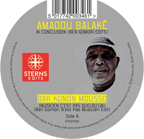"""Sterns Edits/VOL 2: AMADOU BALAKE 12"""""""