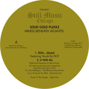 """Solid Gold Playaz/MINDS BENEATH... 12"""""""