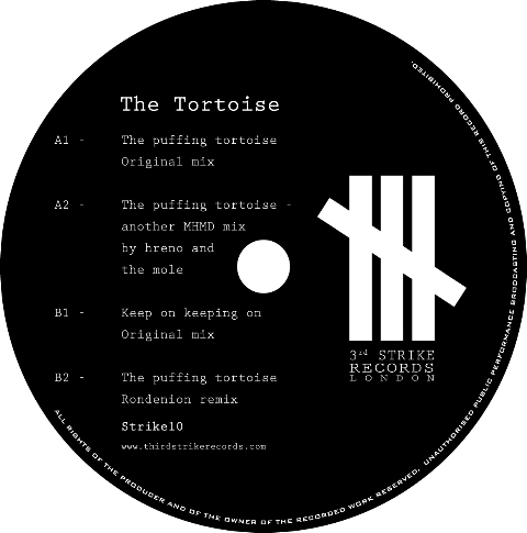 """Tortoise, The/THE PUFFING TORTOISE 12"""""""