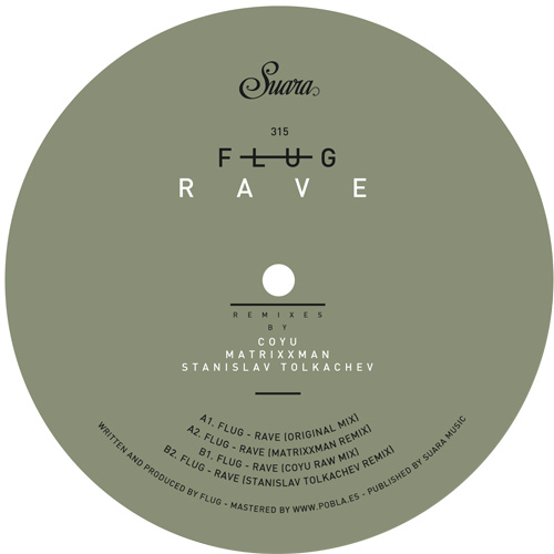 """Flug/RAVE (MATRIXXMAN REMIX) 12"""""""