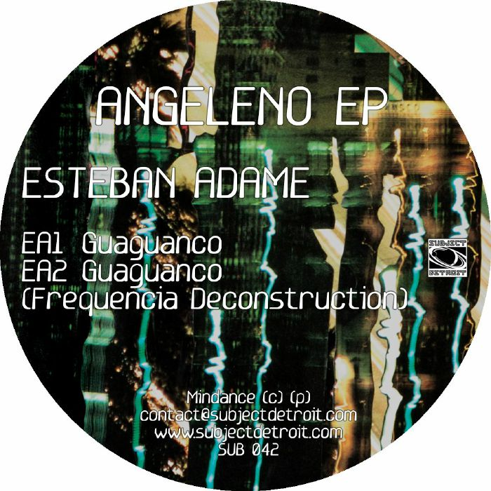 """Esteban Adame/ANGELENO EP 12"""""""