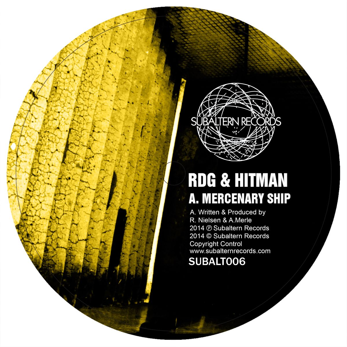 "RDG & Hitman/MERCENARY SHIP-AHX RMX 12"""