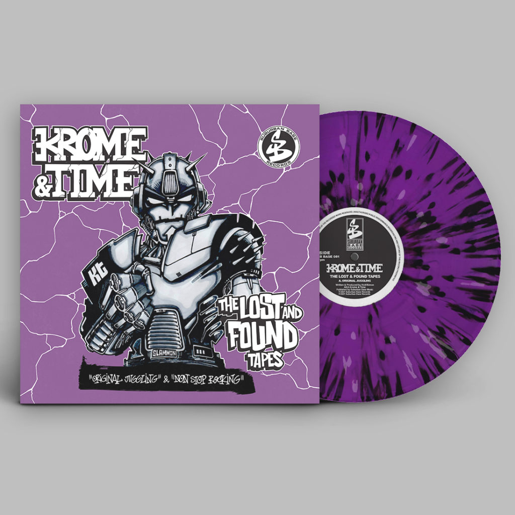 Krome & Time/THE LOST & FOUND TAPES 12""