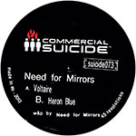 Need For Mirrors/VOLTAIRE 12""