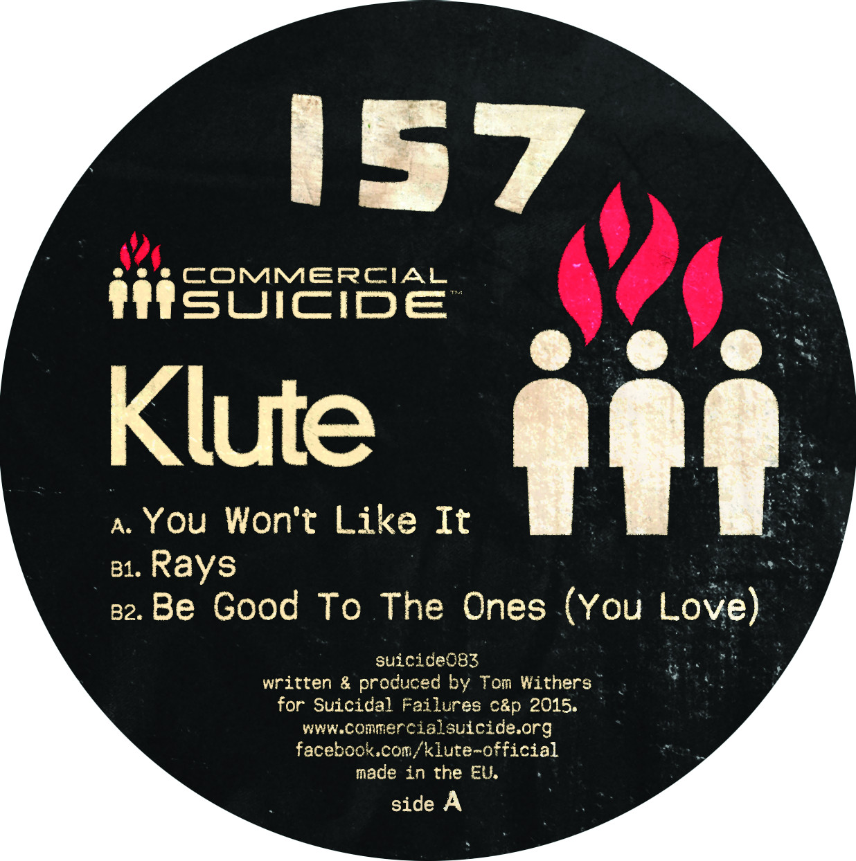 "Klute/YOU WON'T LIKE IT 12"""