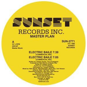 Master Plan/ELECTRIC BAILE 12""