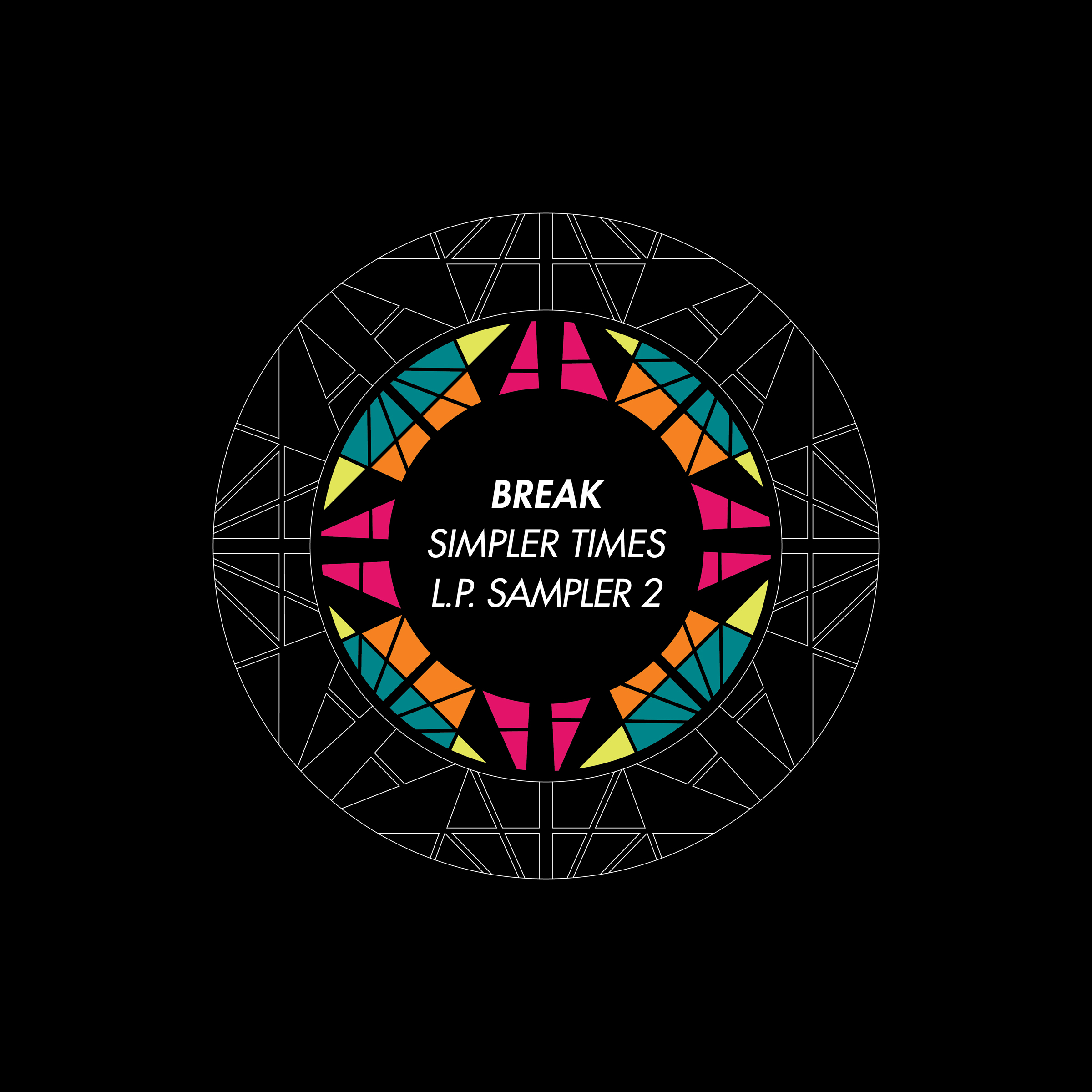 Break/SIMPLER TIMES LP SAMPLER #2 12""