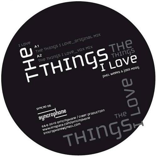 """Phil Weeks & Joss Moog/THE THINGS I..12"""""""