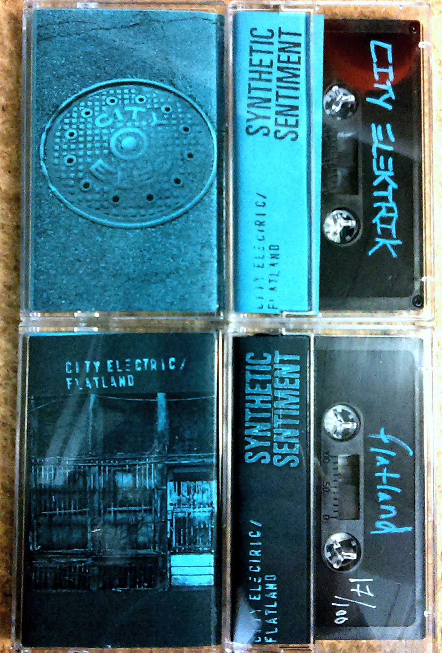 City Electric & Flatland/SPLIT TAPE