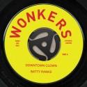 "Batty Ranks/DOWNTOWN CLOWN 7"""