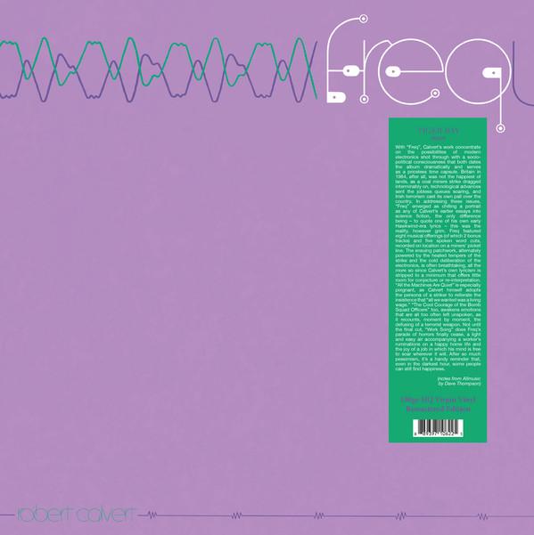 Robert Calvert/FREQ (180g) LP