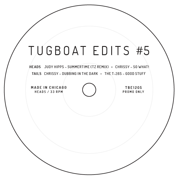 Various/TUGBOAT EDITS VOL. 5 12""