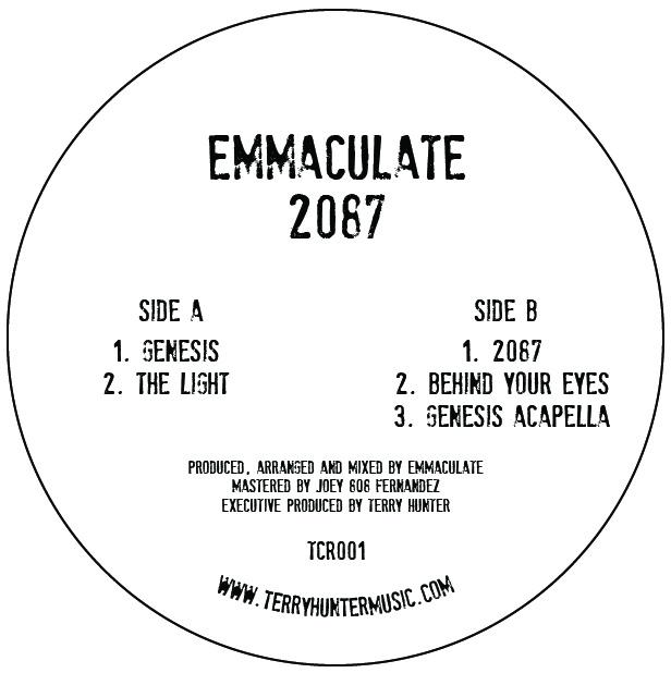 """DJ Emmaculate/2087 EP 12"""""""