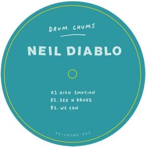 """Neil Diablo/DRUM CHUMS VOL 3 12"""""""