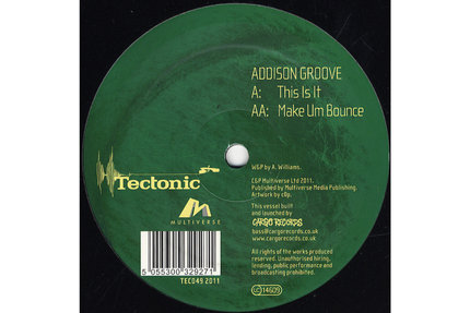 Addison Groove/THIS IS IT 12""