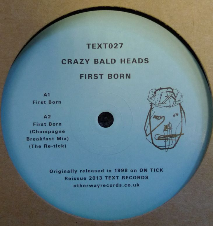 "Crazy Bald Heads/FIRST BORN EP 12"""