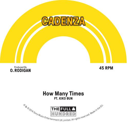 """Cadenza/HOW MANY TIMES 7"""""""