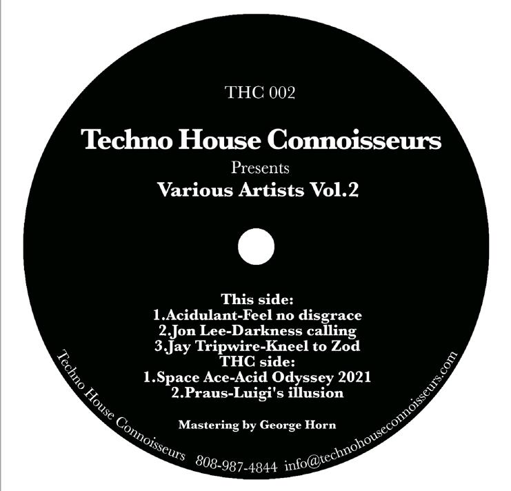 "Various/T.H.C. VOL. 2 EP 12"""