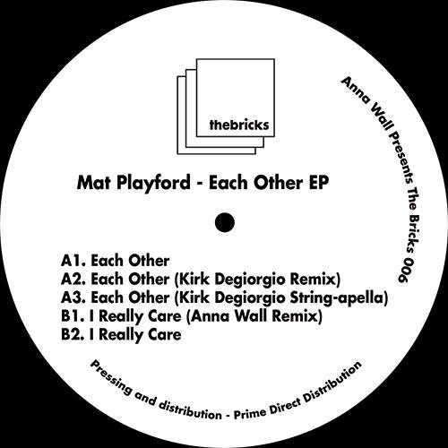 """Mat Playford/EACH OTHER EP 12"""""""