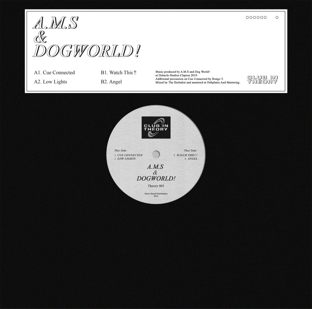 A.M.S & Dogworld/THEORY001 12""