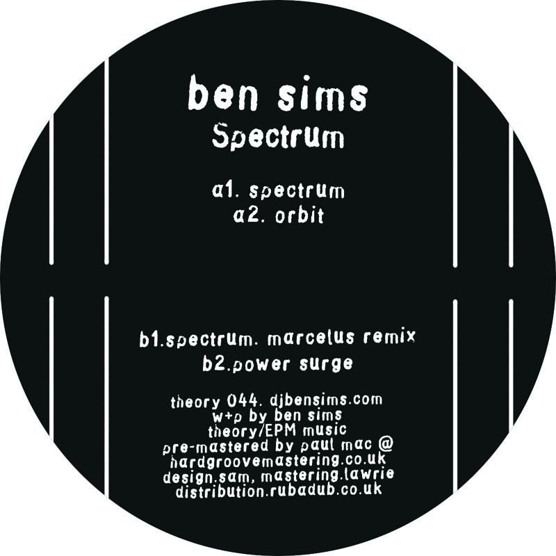 "Ben Sims/SPECTRUM 12"""