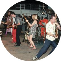"Talking Heads/LIVE 80""s TOUR SLIPMAT"