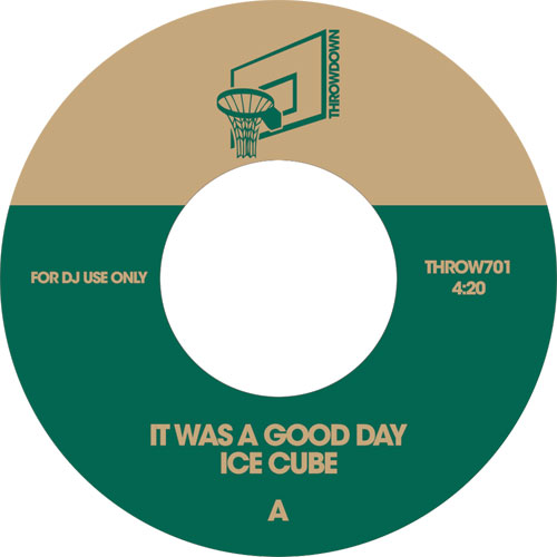 Ice Cube/IT WAS A GOOD DAY 7""
