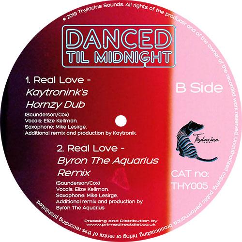"Danced Til Midnight/REAL LOVE 12"""